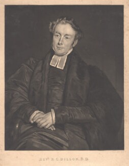Robert Crawford Dillon, after Thomas Bridgford - NPG D1643