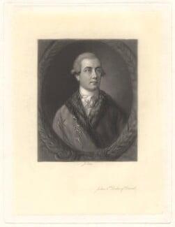 John Frederick Sackville, 3rd Duke of Dorset, by James Scott, after  Thomas Gainsborough - NPG D1654