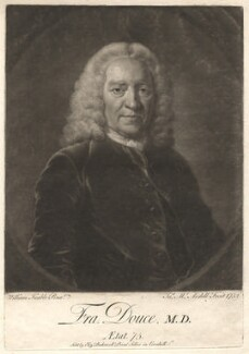 Francis Douce, by James Macardell, after  William Keable - NPG D1655