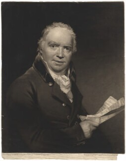 Sir William Douglas, Bt, by William Say, after  Sir William Beechey - NPG D1656