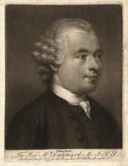 Louis Dutens, by Edward Fisher, after  Unknown artist - NPG D1664