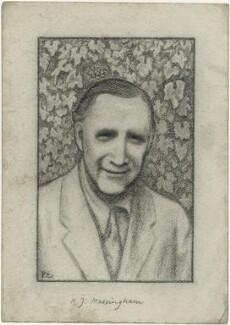 Harold John Massingham, by Powys Evans - NPG D1669