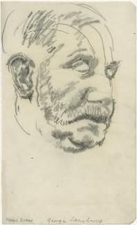 George Lansbury, by Powys Evans - NPG D1675
