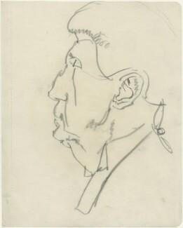 Sir Henry Fielding Dickens, by Powys Evans - NPG D1682