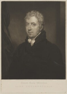 Edward Bootle-Wilbraham, 1st Baron Skelmersdale, by William James Ward, published by  Colnaghi & Co, after  Thomas Stewardson - NPG D1698