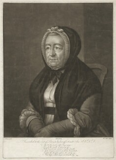 Mary Chelsum (née Ward), by William Pether, after  S. Elmer - NPG D1701