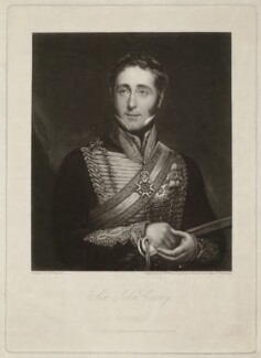 Sir John Conroy, 1st Bt, by William James Ward, published by and after  William Fowler - NPG D1704