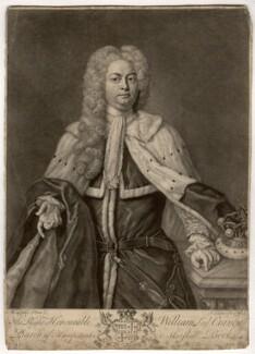 William Craven, 3rd Baron Craven, by John Faber Jr, sold by  George Hopkinson, after  Michael Dahl - NPG D1705