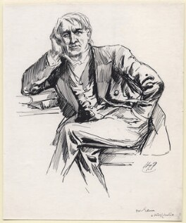 Thomas Alva Edison, by Harry Furniss - NPG D171