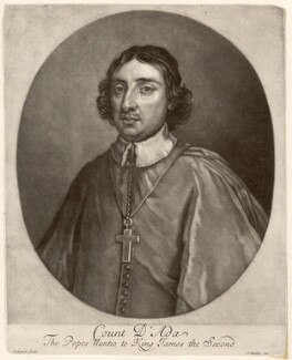 Ferdinando d'Adda, by Isaac Beckett, after  Sir Godfrey Kneller, Bt - NPG D1712