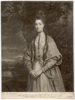 Anne Seymour Damer (née Conway), by John Raphael Smith, after  Sir Joshua Reynolds - NPG D1717