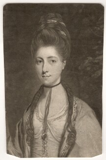 Anne Seymour Damer (née Conway), by John Raphael Smith, after  Sir Joshua Reynolds - NPG D1718