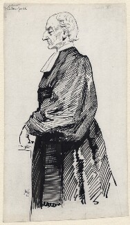 Albert Basil Orme Wilberforce, by Harry Furniss, 1894-1916, published in Some Victorian Men 1924 - NPG D172 - © National Portrait Gallery, London