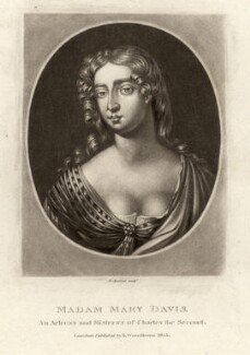 Mary Davis, by Richard Earlom, after  Sir Peter Lely - NPG D1726