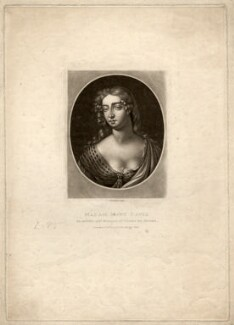 Mary Davis, by Richard Earlom, after  Sir Peter Lely - NPG D1727