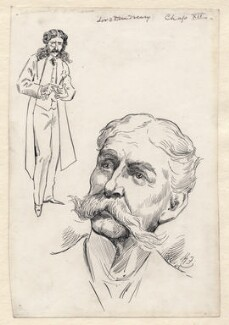 Edward Askew Sothern as Lord Dundreary, by Harry Furniss - NPG D173