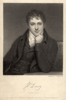 Sir Humphry Davy, Bt, by Charles Turner, after  Henry Howard, published 1835 - NPG D1730 - © National Portrait Gallery, London