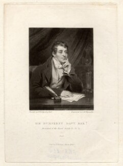 Sir Humphry Davy, Bt, by Samuel William Reynolds, after  Thomas Phillips, published 1822 (1821) - NPG D1732 - © National Portrait Gallery, London