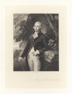 Francis Basset, Baron de Dunstanville and Baron Basset, by George H. Every, after  Henry Graves & Co, after  Thomas Gainsborough - NPG D1733