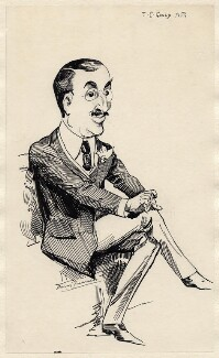 James Childs Gould, by Harry Furniss - NPG D174