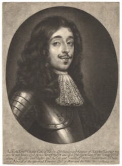 Charles Stanley, 8th Earl of Derby, by Abraham Blooteling (Bloteling), after  Unknown artist - NPG D1741