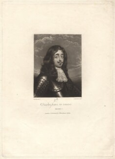 Charles Stanley, 8th Earl of Derby, by Robert Dunkarton, after  Unknown artist - NPG D1743