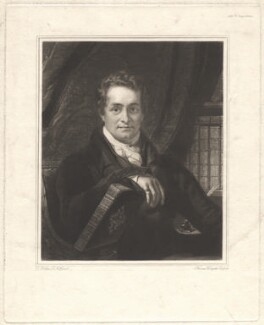 Thomas Frognall Dibdin, by and published by Thomas Hodgetts, after  Thomas Phillips - NPG D1758