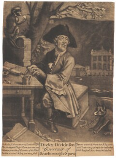 Richard Dickinson, after Hans Hysing - NPG D1759