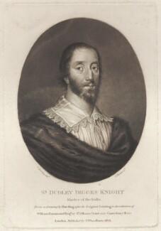 Sir Dudley Digges, by Charles Turner, after  Cornelius Johnson (Cornelius Janssen van Ceulen) - NPG D1761