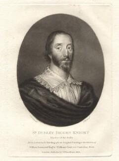 Sir Dudley Digges, by Charles Turner, after  Cornelius Johnson (Cornelius Janssen van Ceulen) - NPG D1762
