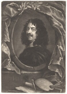 William Dobson, by George White, after  William Dobson - NPG D1765