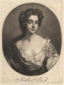 Catherine Sedley, Countess of Dorchester, by Robert Williams, after  Willem Wissing, late 17th century - NPG D1769 - © National Portrait Gallery, London