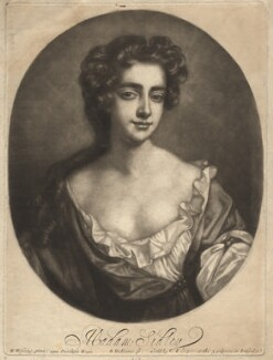 Catherine Sedley, Countess of Dorchester, by Robert Williams, after  Willem Wissing, late 17th century - NPG D1770 - © National Portrait Gallery, London
