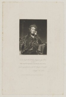 George Agar-Ellis, 1st Baron Dover, by William Brett, after  Sir Thomas Lawrence - NPG D1783