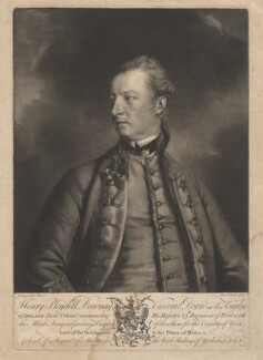 Henry Pleydell Dawnay, 3rd Viscount Downe, by Edward Fisher, after  Sir Joshua Reynolds - NPG D1786