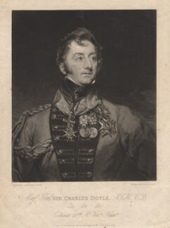 Sir Charles William Doyle, by Thomas Hodgetts, after  Margaret Sarah Carpenter - NPG D1790