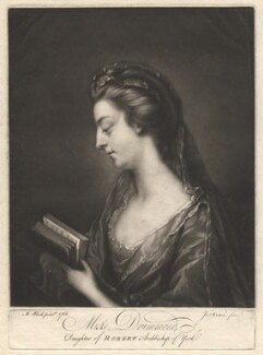 Abigail Drummond, by James Watson, after  Mary Black - NPG D1793