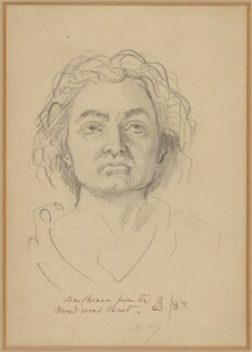 Ludwig van Beethoven, by Ford Madox Brown - NPG D180