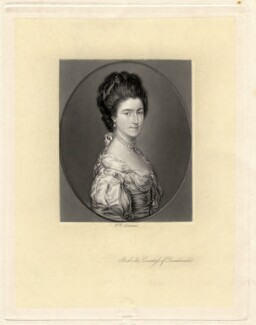Isabella (née Raymond), Countess of Dundonald, by William Henry Simmons, after  Thomas Gainsborough - NPG D1808
