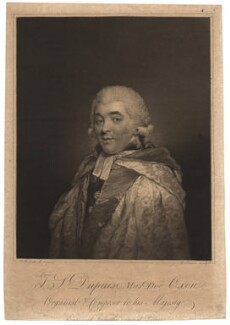 Thomas Sanders Dupuis, by Charles Turner, after  John Russell - NPG D1812