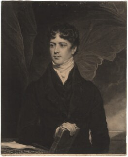 John George Lambton, 1st Earl of Durham, by Samuel William Reynolds, after  Thomas Phillips, (1819) - NPG D1814 - © National Portrait Gallery, London