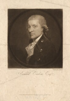 Richard Earlom, by Thomas Goff Lupton, published by  Hurst, Robinson & Co, after  Gilbert Stuart - NPG D1821