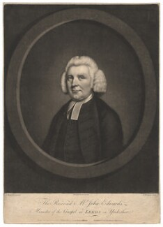 John Edwards, by James Watson, after  Carington Bowles, by  John Russell - NPG D1827