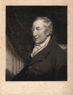 George O'Brien Wyndham, 3rd Earl of Egremont, by William Ward, after  John James Masquerier - NPG D1831