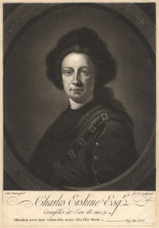 Charles Erskine, by James Macardell, after  Thomas Hudson - NPG D1836