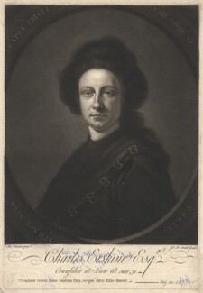 Charles Erskine, by Thomas Hudson - NPG D1837