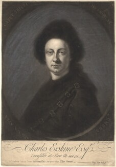 Charles Erskine, by Thomas Hudson - NPG D1838