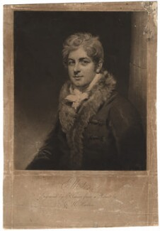 Robert William Elliston, by Charles Turner, after  George Henry Harlow - NPG D1857