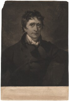 Thomas Erskine, 1st Baron Erskine, by George Clint, after  Sir Thomas Lawrence - NPG D1861