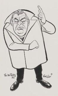 Ian Paisley, by Rowel Friers - NPG D188
